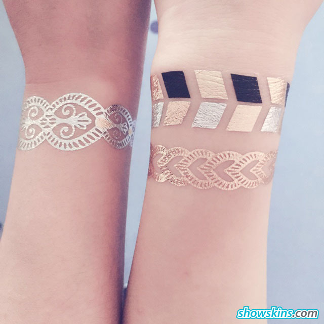 Personalised tattoo stickers