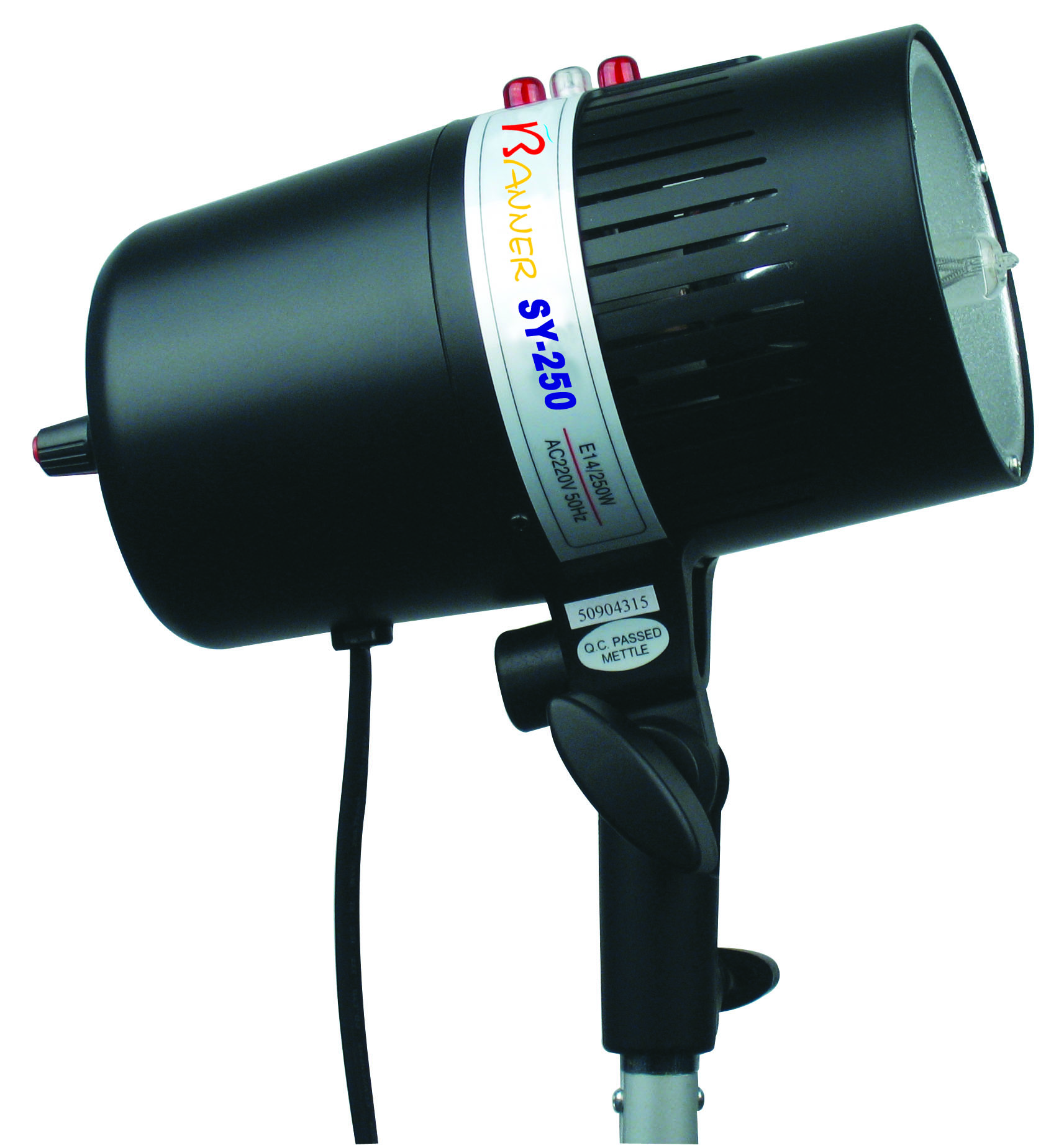 Portable strobe light for photography